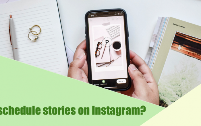 schedule stories on Instagram