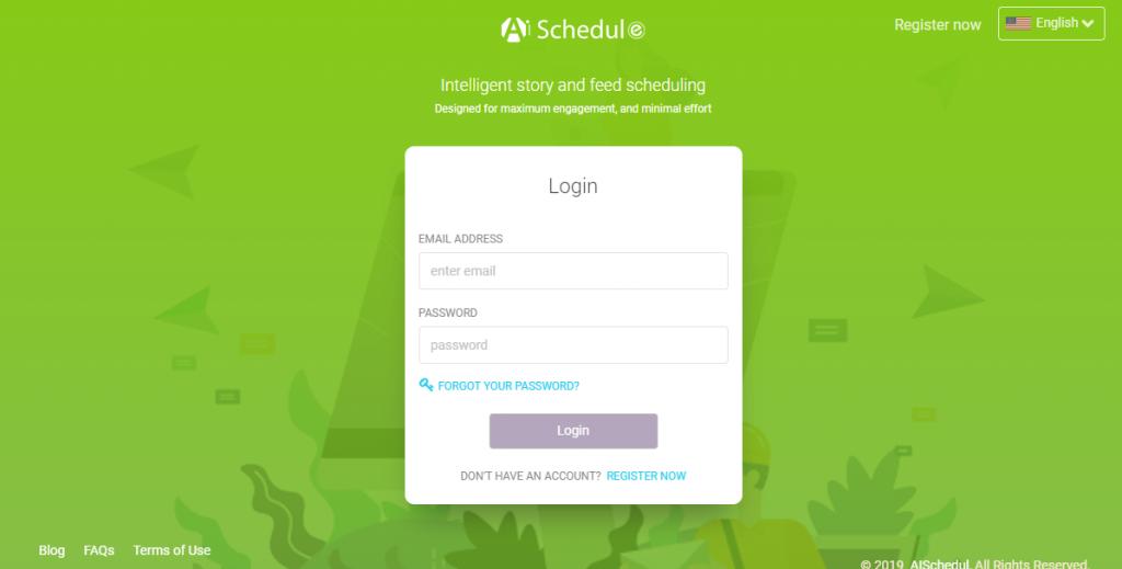 AiSchedule login
