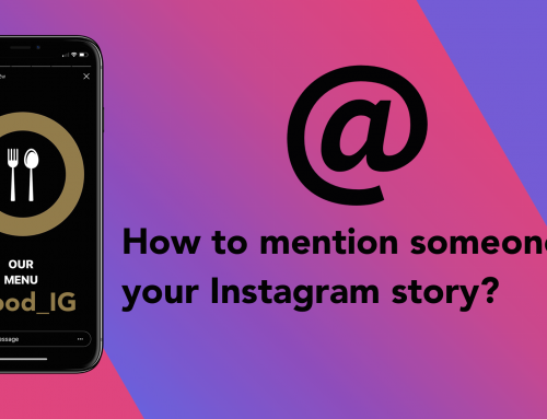 How to mention someone on your Instagram story?