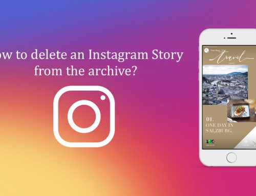 How to delete an Instagram Story from the archive?