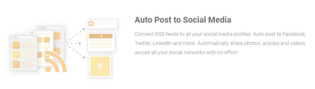 Auto post and social media