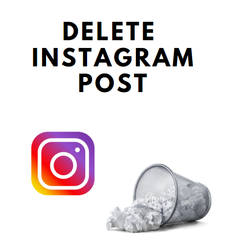 Delete Instagram posts