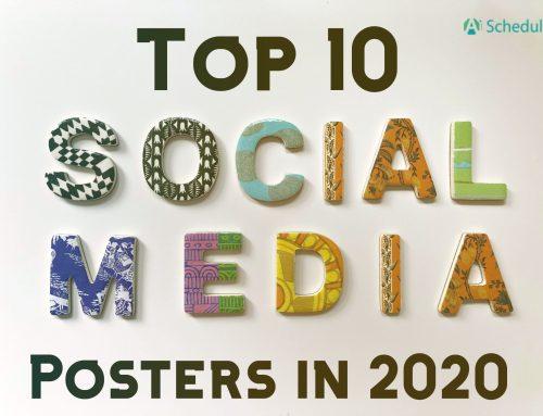 Top 10 Social Media Poster in 2020