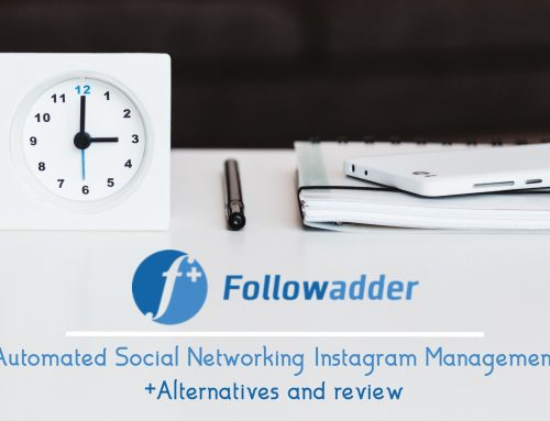 FollowAdder, Automated Social Networking Instagram Management | +Alternatives and review