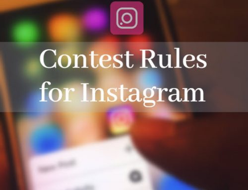 How to write your contest rules for Instagram?