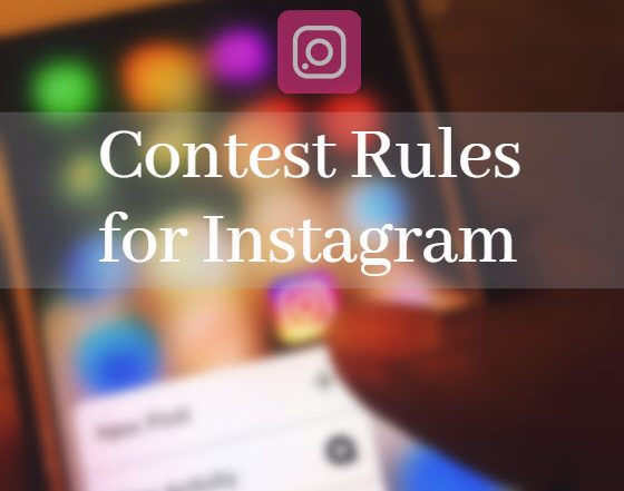 Contest Rules for Instagram