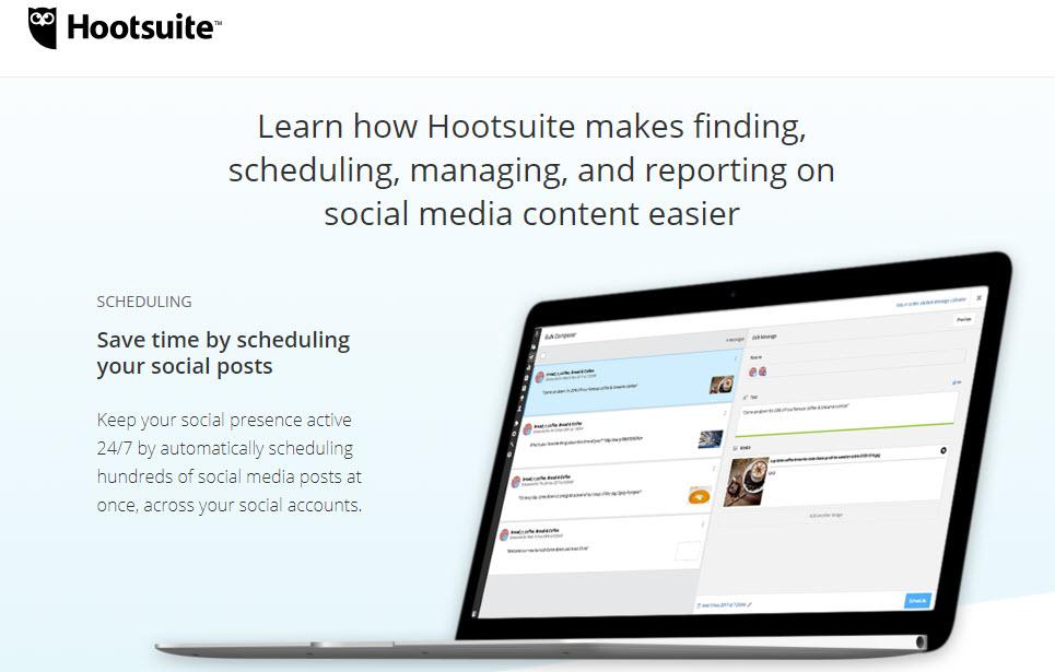 Hootsuite website