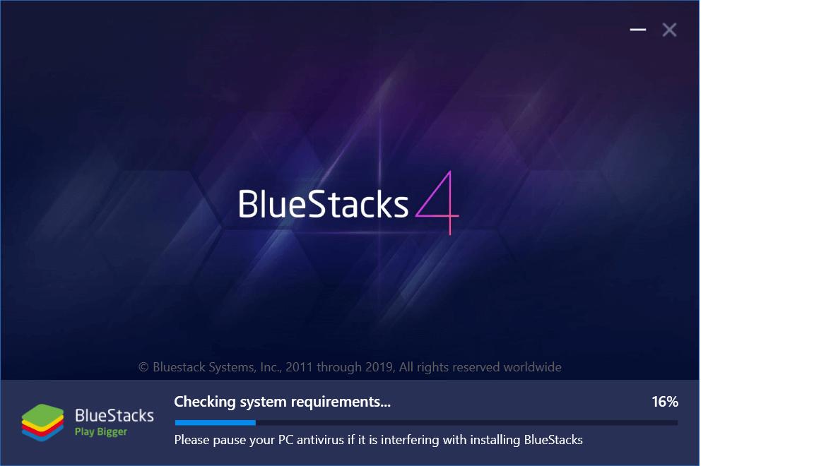Bluestacks Installation