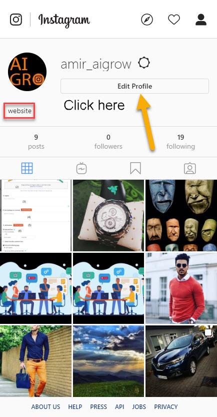 aigrow Instagram account