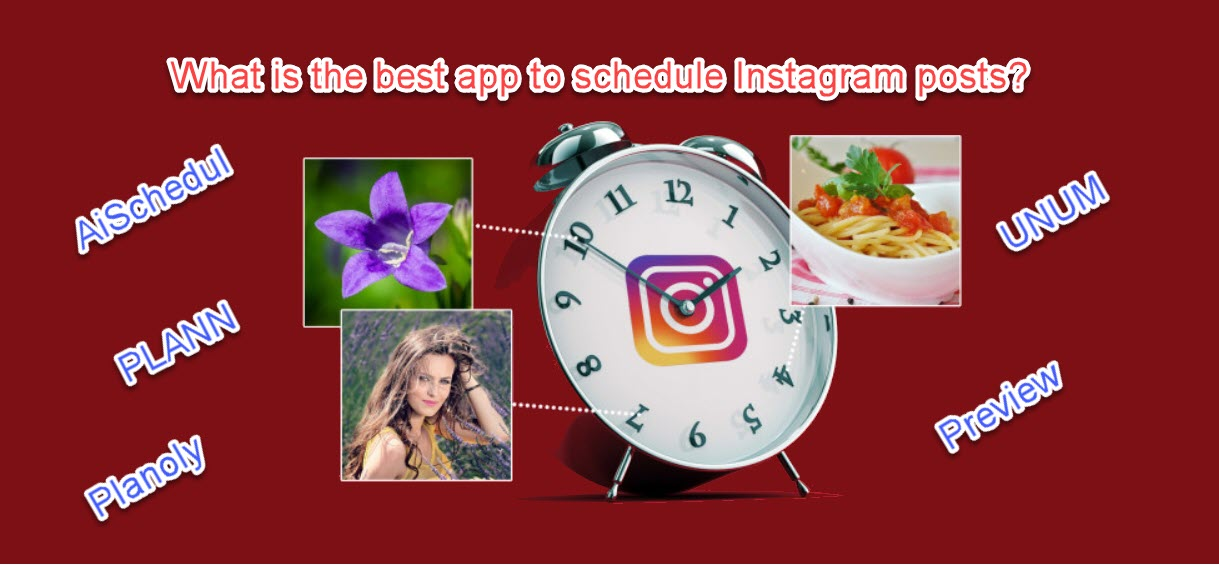 app to schedule Instagram posts
