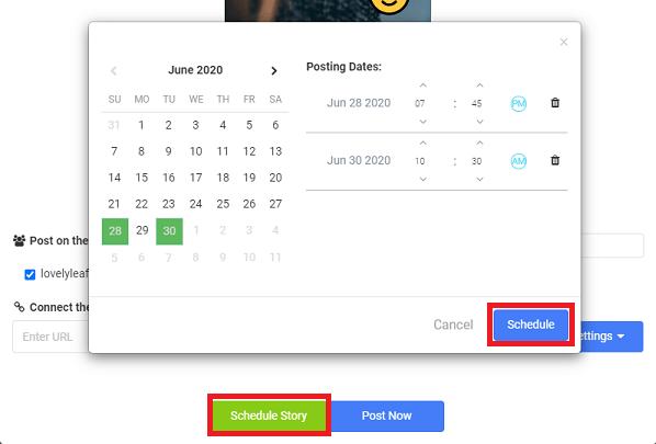 AiSchedule story schedule
