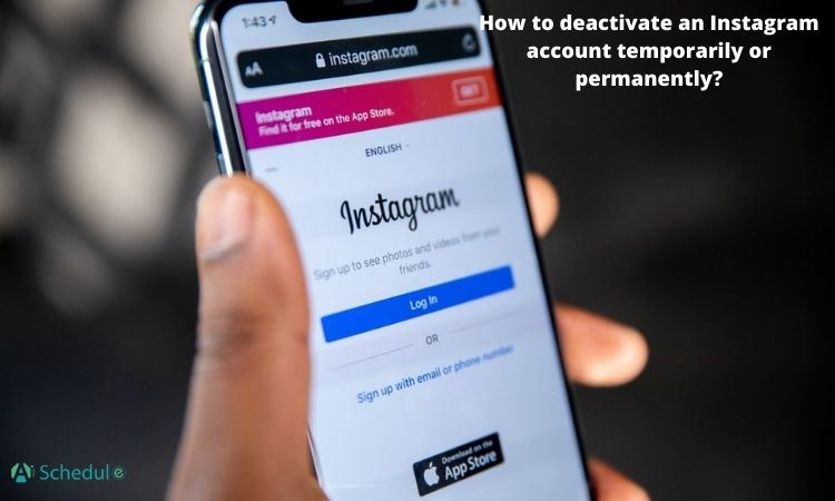 How to deactivate an Instagram account temporarily or permanently