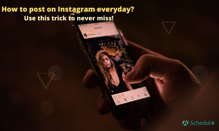 How to post on Instagram every day_ Use this trick to never miss!