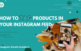 tag products in your Instagram posts