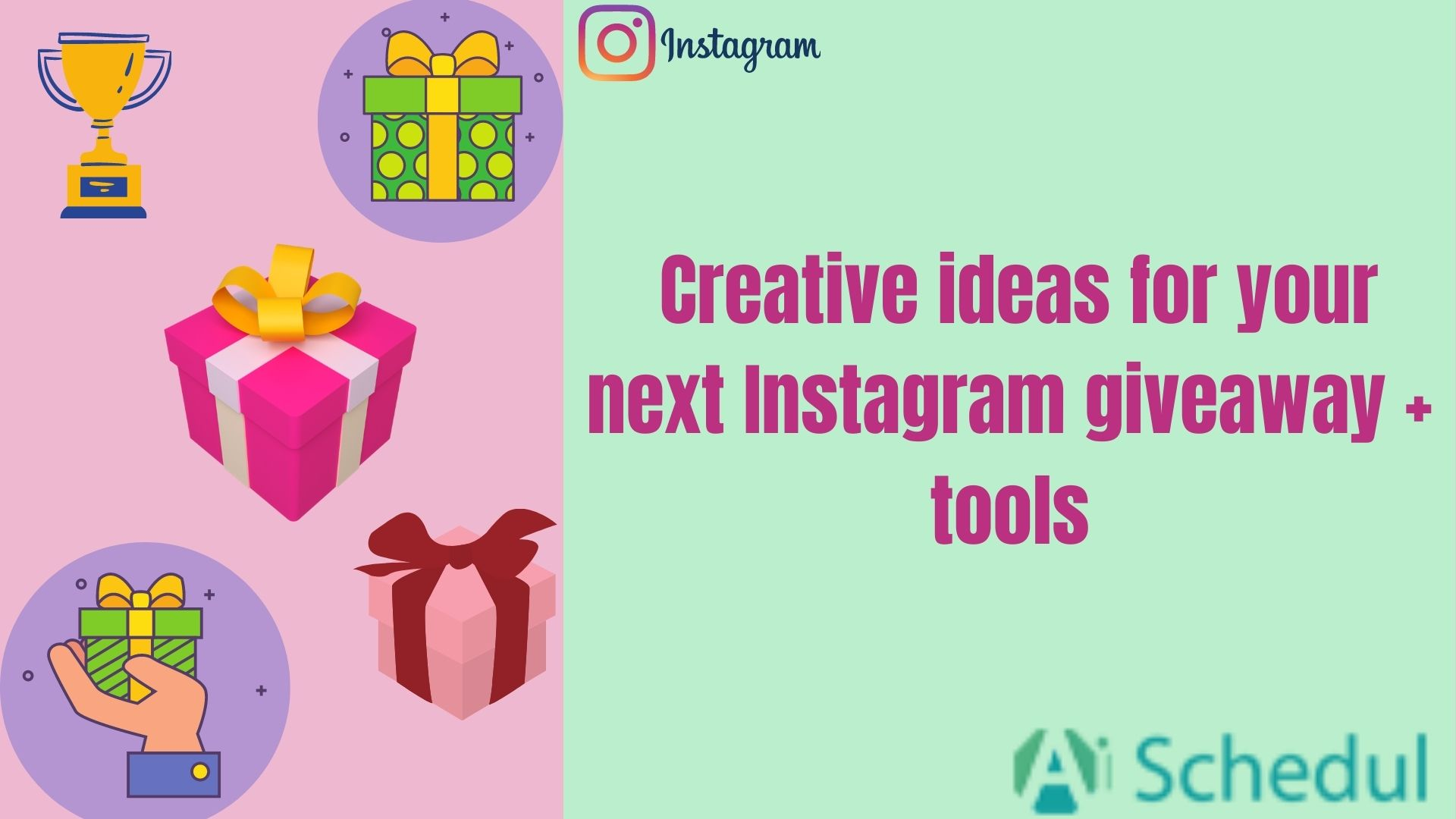 Creative ideas to run a giveaway