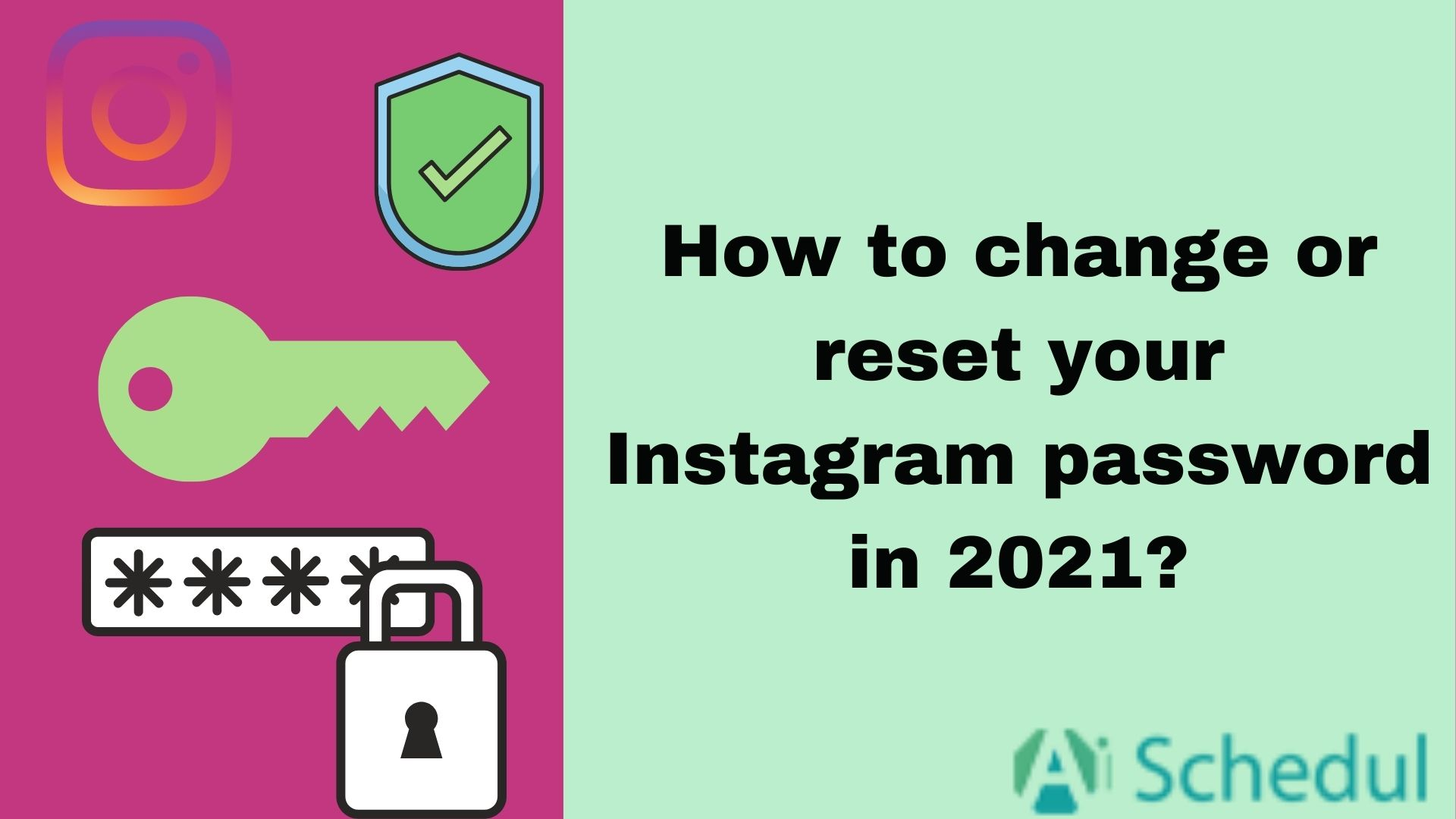 change and reset Instagram password