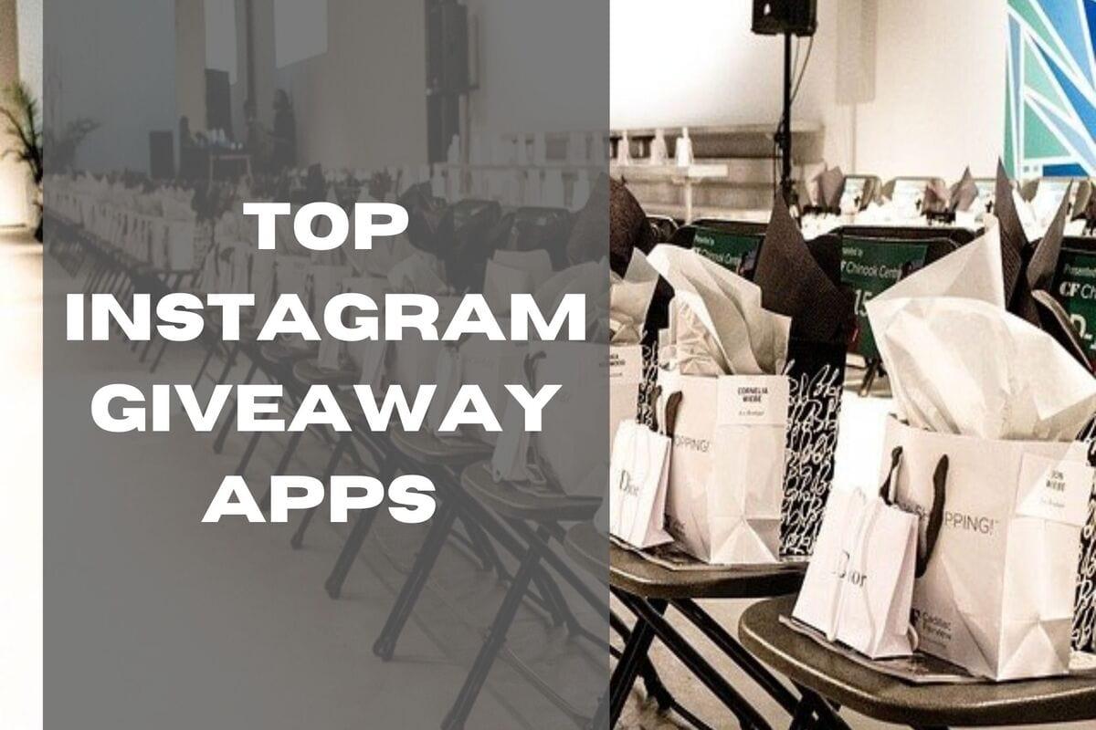 Top 3 Instagram Giveaway Apps