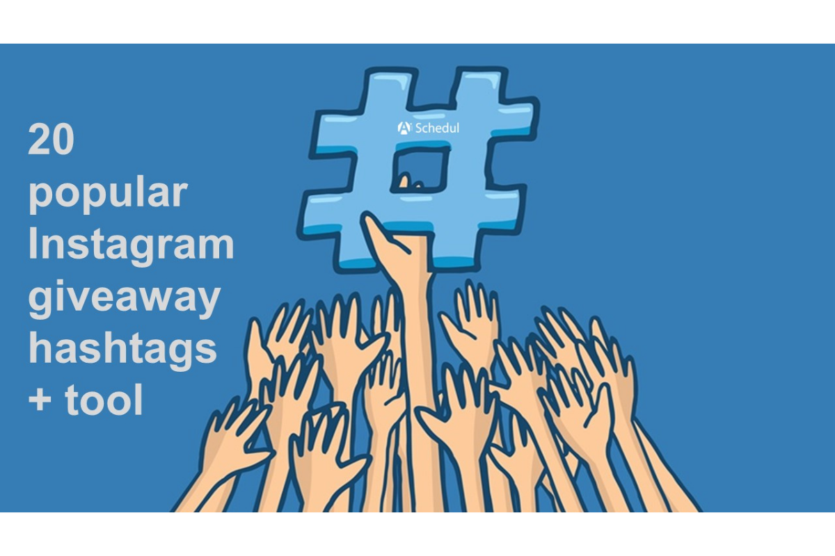 Instagram giveaway hashtags