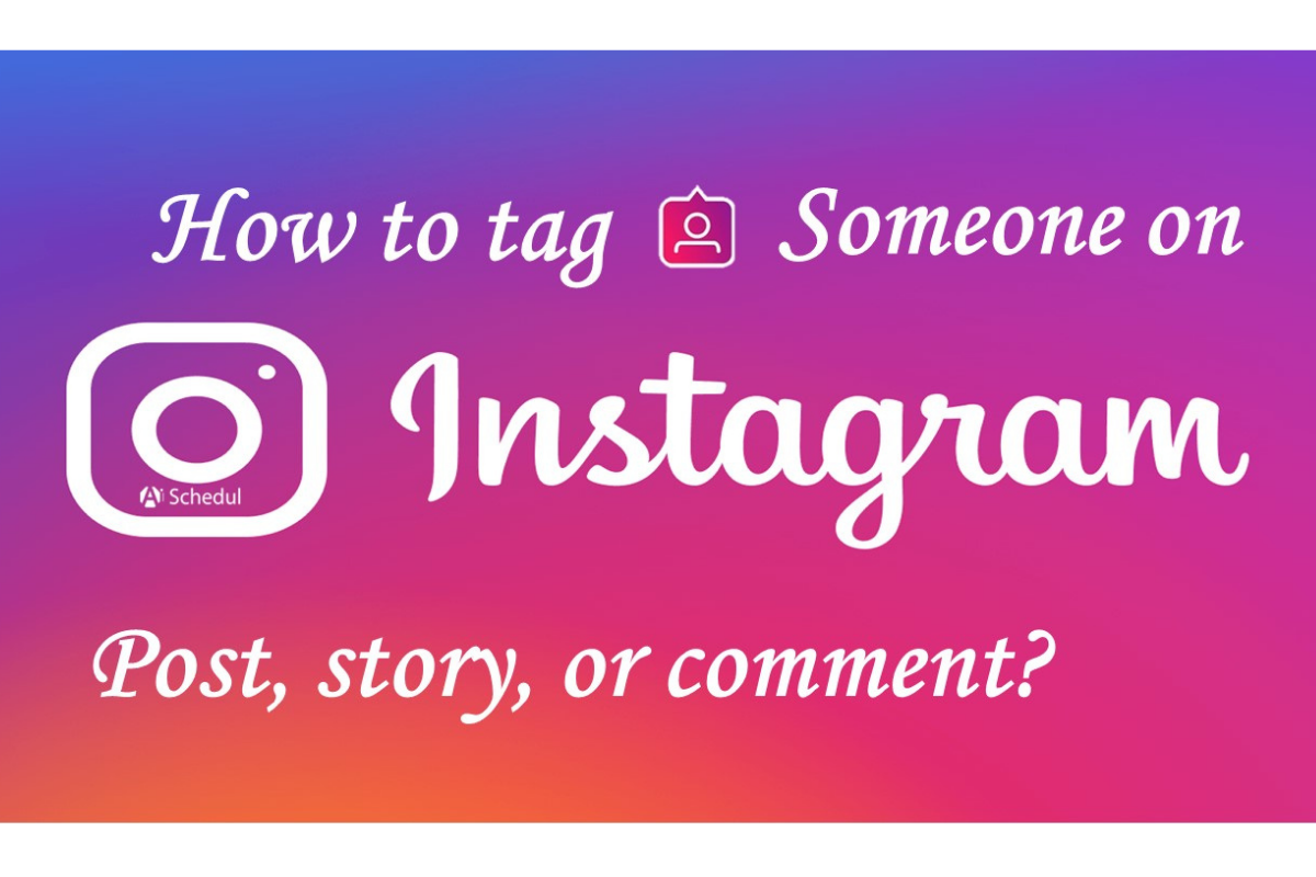 How to tag someone on Instagram