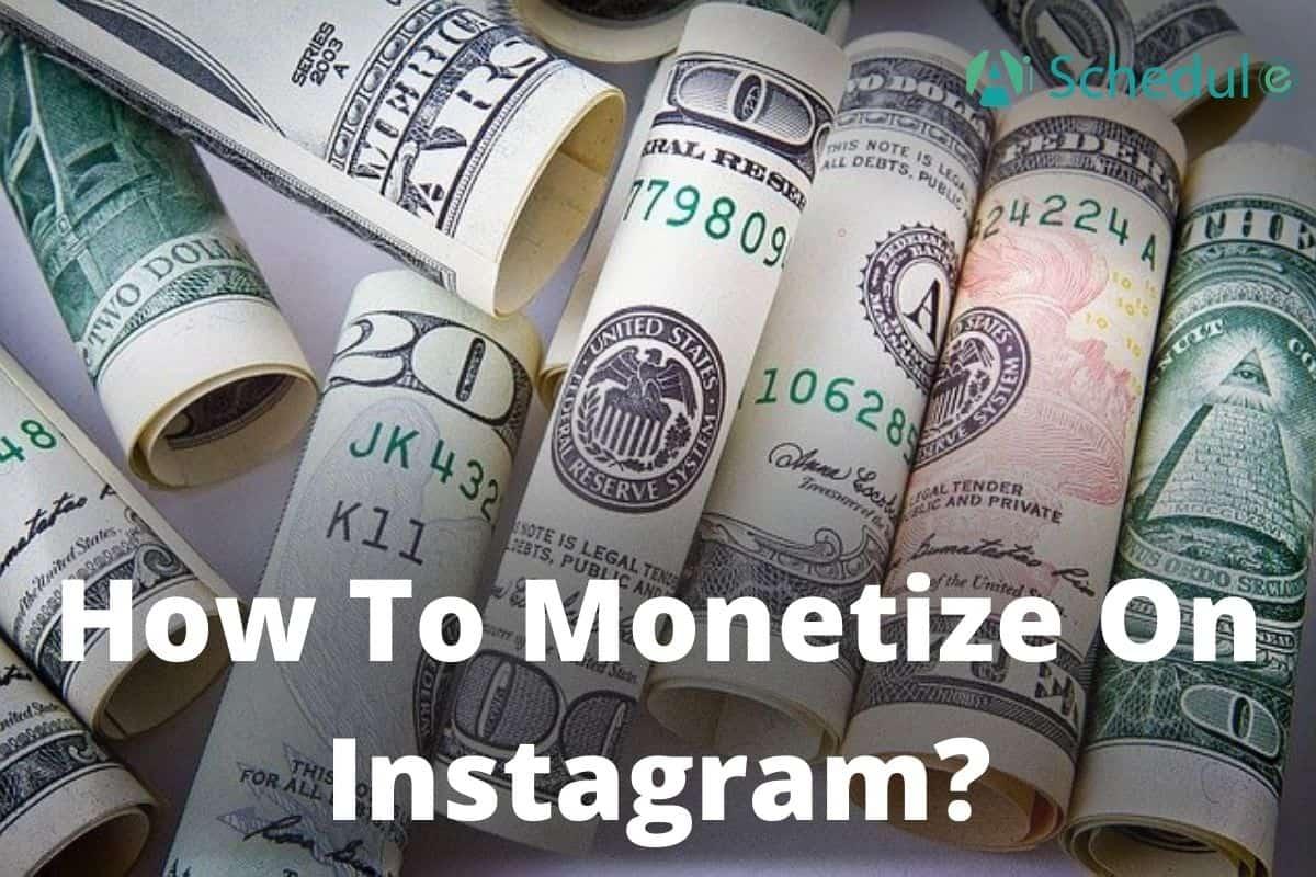 how to monetize Instagram