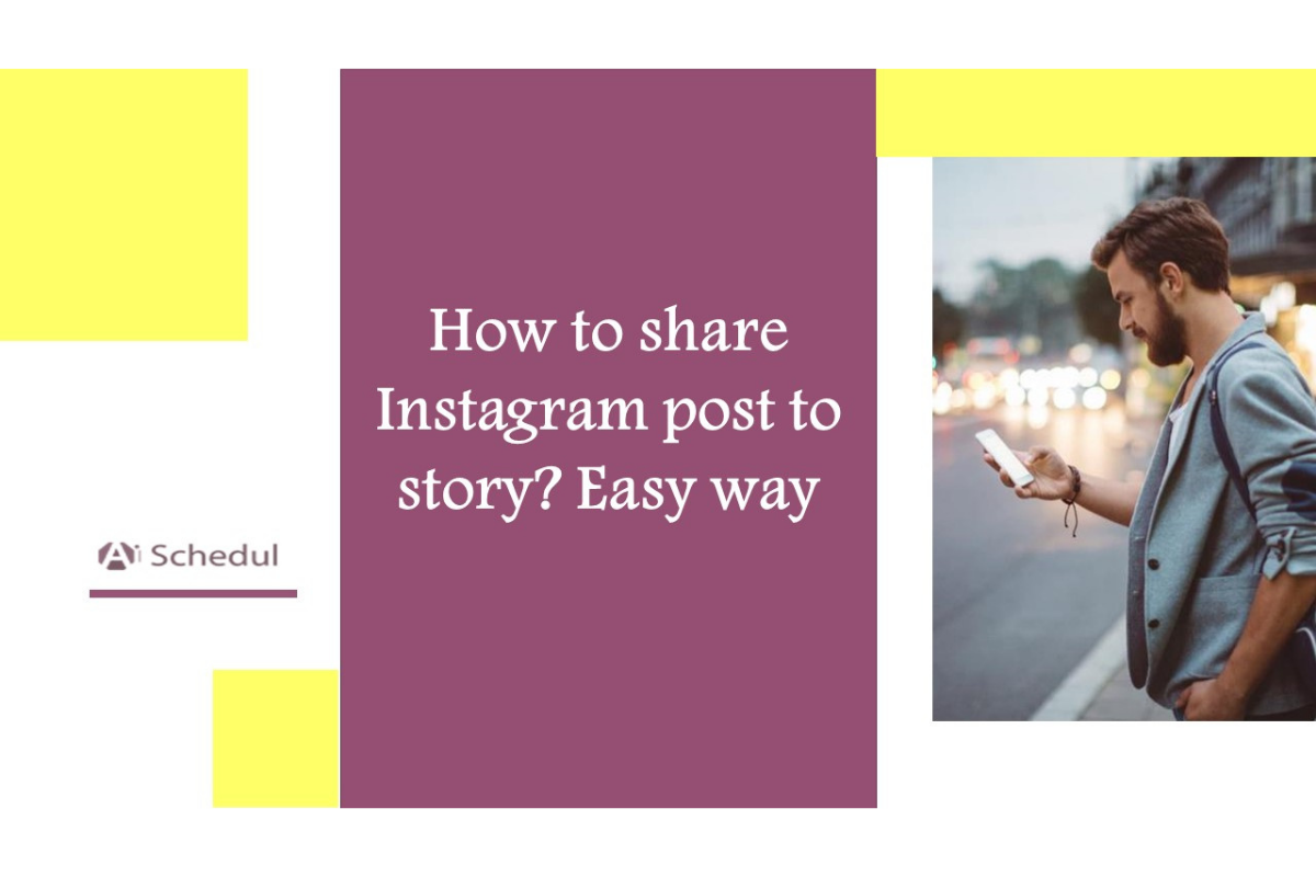 How to share Instagram post to story