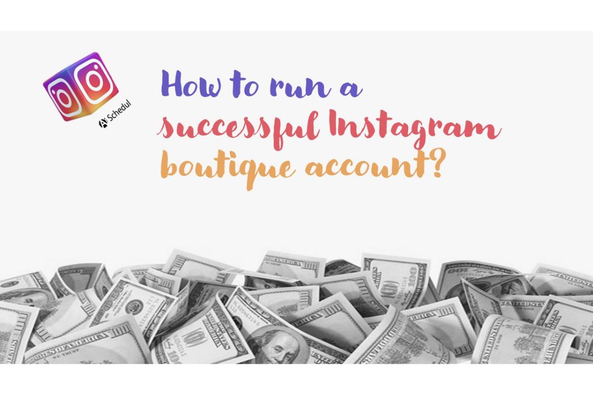 Instagram boutiques